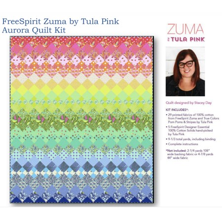 Aurora Quilt Kit Featuring Zuma