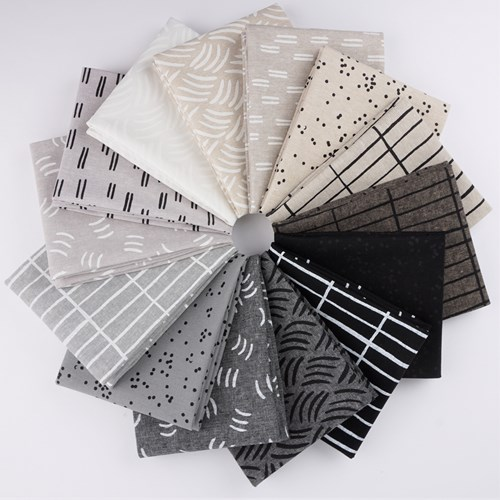 Balboa Fat Quarter Bundle by Erin Dollar Neutral Colorstory