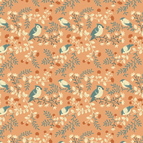 Birds and Branches in Coral