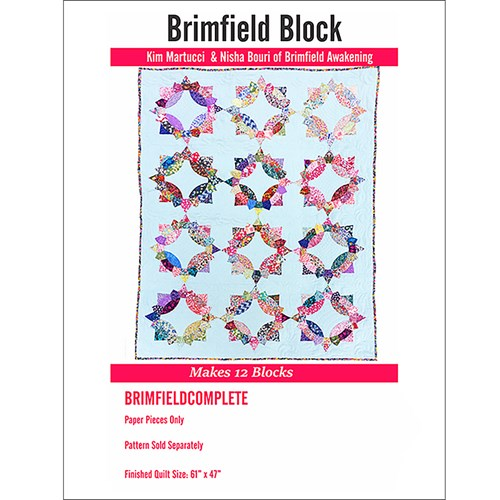 Brimfield Block 12 Block Paper Piece Pack