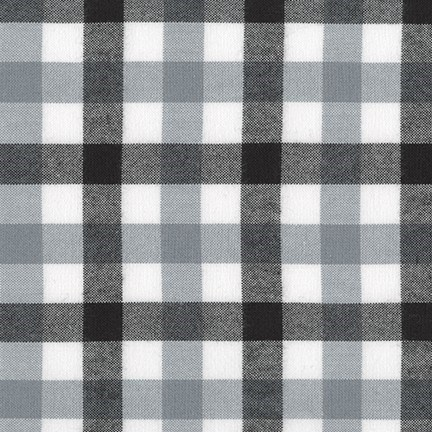 Brooklyn Plaid Flannel in Black
