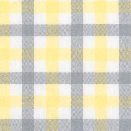 Brooklyn Plaid Flannel in Bumblebee