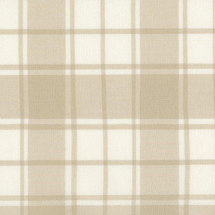 Brooklyn Plaid Flannel in Natural