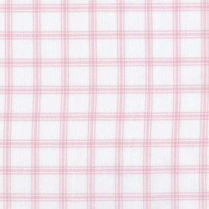 Brooklyn Plaid Flannel in Petal