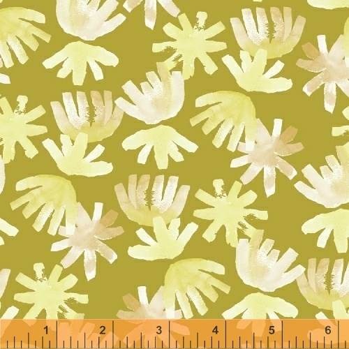 Brushed Petals in Chartreuse