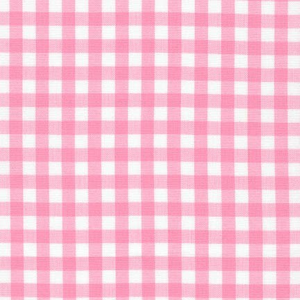 "Carolina Gingham 1/4"" - Candy Pink"