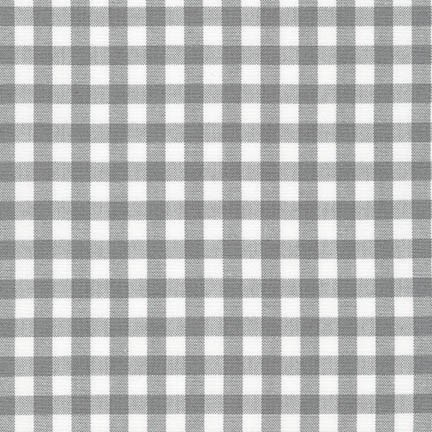 "Carolina Gingham 1/4"" - Grey"