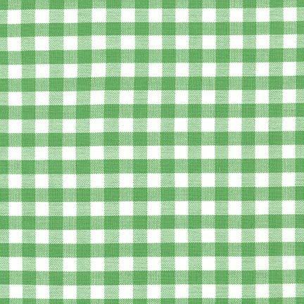 "Carolina Gingham 1/4"" - Kelly"