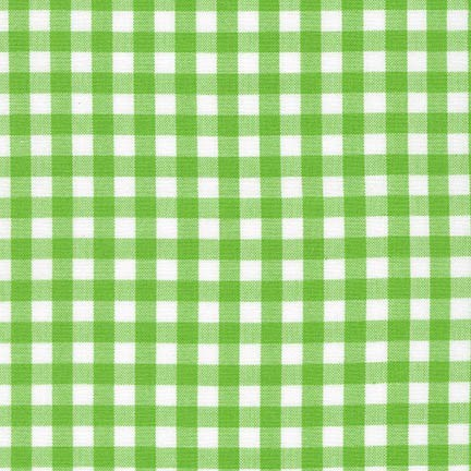 "Carolina Gingham 1/4"" - Lime"