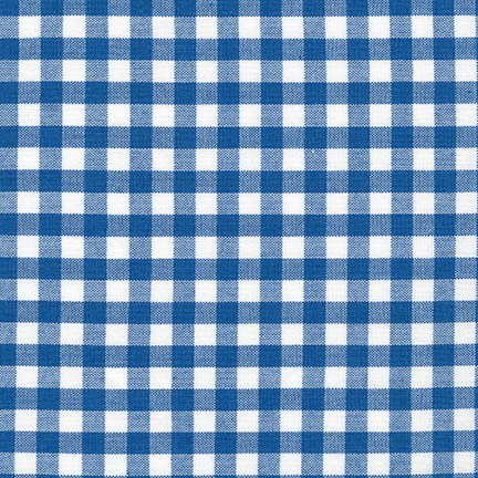 "Carolina Gingham 1/4"" in Royal"