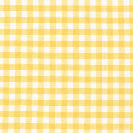"Carolina Gingham 1/4"" - Yellow"