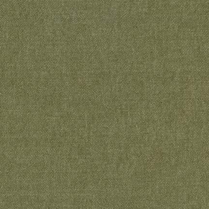 Chambray Flannel in Olive