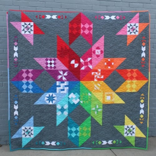 Chocolatier Block of the Month Pattern by AnneMarie Chany