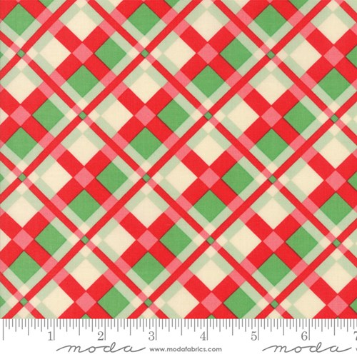 Christmas Plaid in Red Green