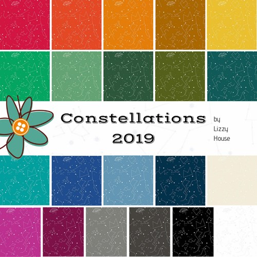 Constellations 2019 Half Yard Bundle by Lizzy House