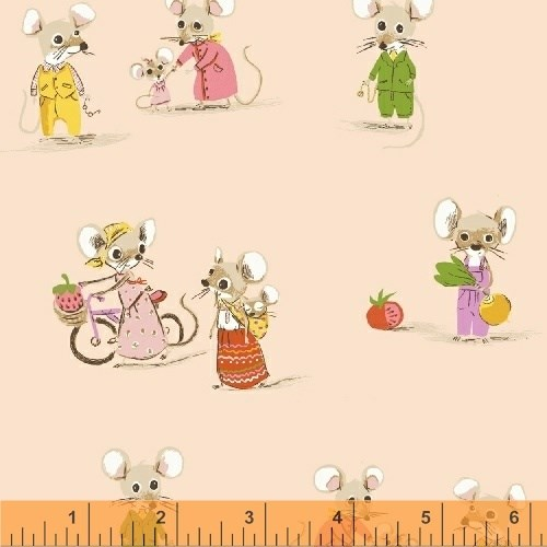 Country Mouse City Mouse in Blush