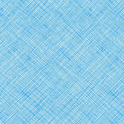 Crosshatch in Paris Blue