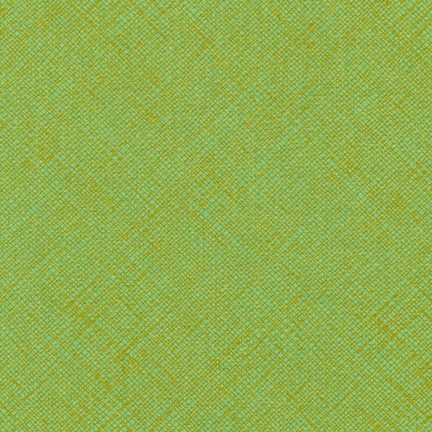 Crosshatch in Pistachio