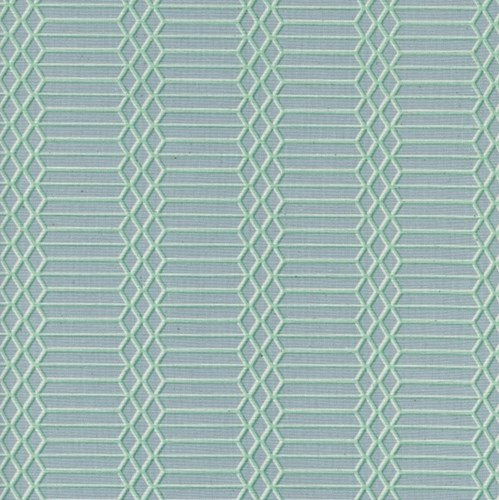 Dandy Bars in Aqua UNBLEACHED COTTON