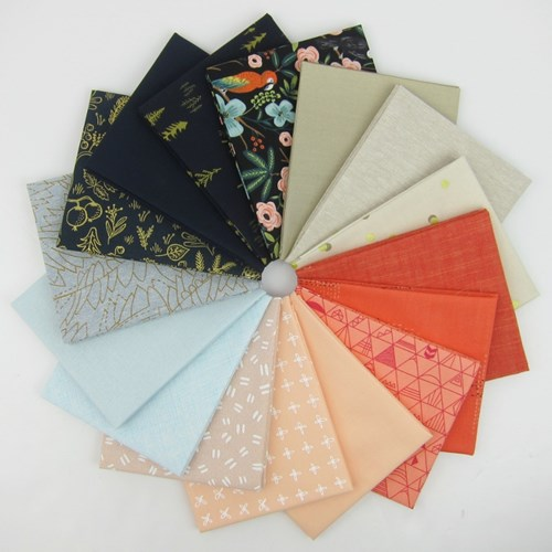 Design Star May 2018 Fat Quarter Bundle Curated by Andrea Jackson of 3rd Story Workshop