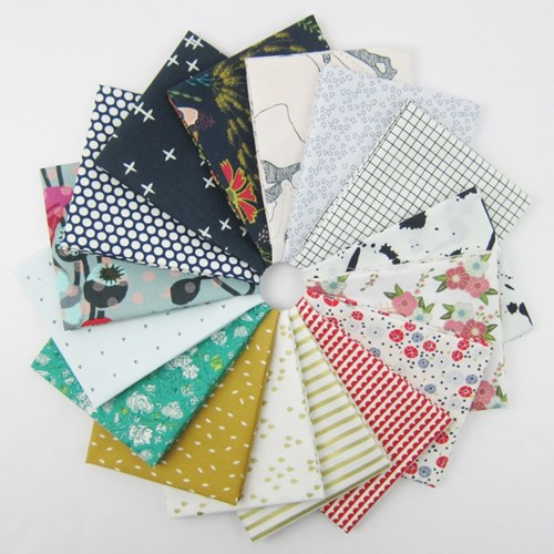 Design Star December 2017 Fat Quarter Bundle Curated by Svetlana Sotak
