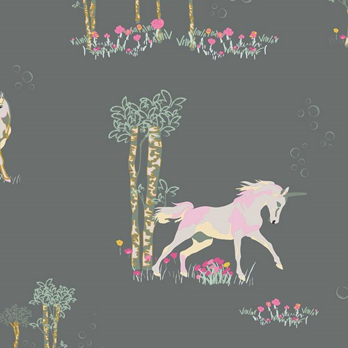 Fantasia Unicorn Fable in Sageplant VOILE
