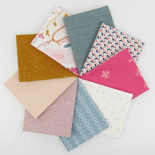 Flower Field Fat Quarter Bundle