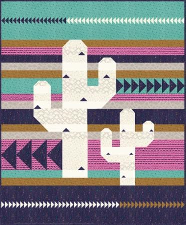 Flying Cactus Quilt Pattern
