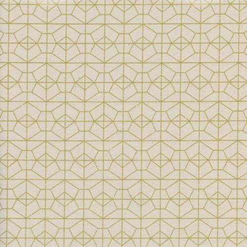 Geo Grid in Natural Metallic