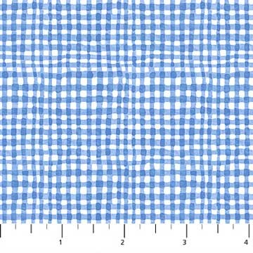 Gingham in Blue