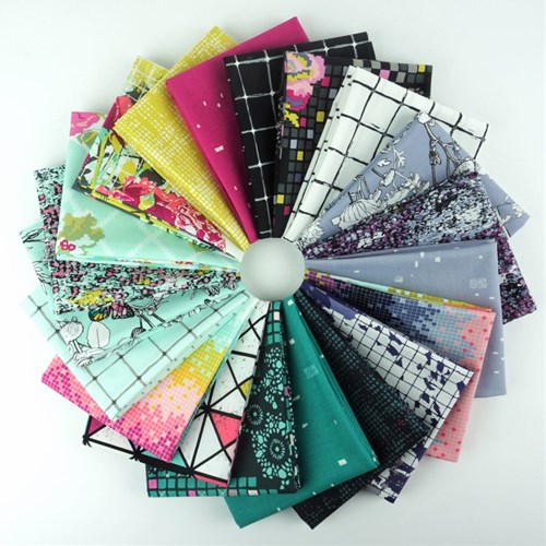 Grid Fat Quarter Bundle by Katarina Roccella