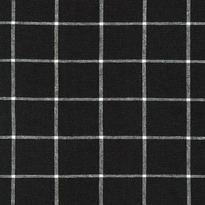 Grid Yarn Dyed Woven - Black