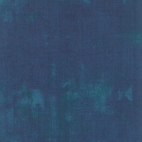 Grunge in Prussian Blue