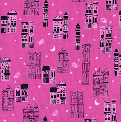 Haunted City in Pink