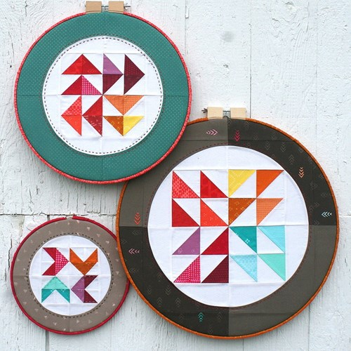 Hoop Quilts Pattern by AnneMarie Chany