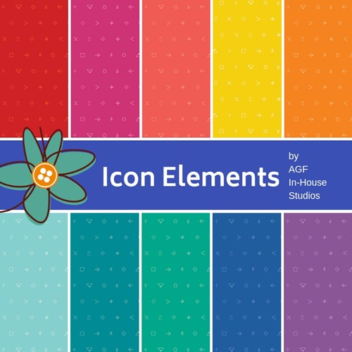 PREORDER - Icon Elements Fat Quarter Bundle by AGF In-House Studio