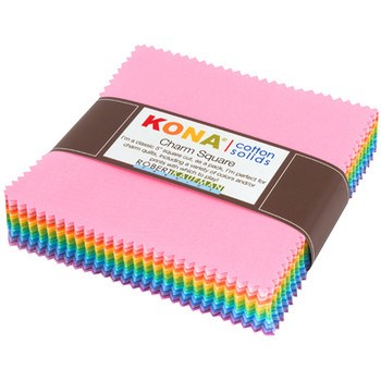 Kona Cotton Pastel Colorstory Charm Pack