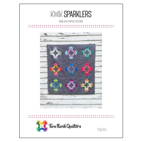 Kwik Sparklers English Paper Paper Piecing Pattern by Two Kwik Quilters