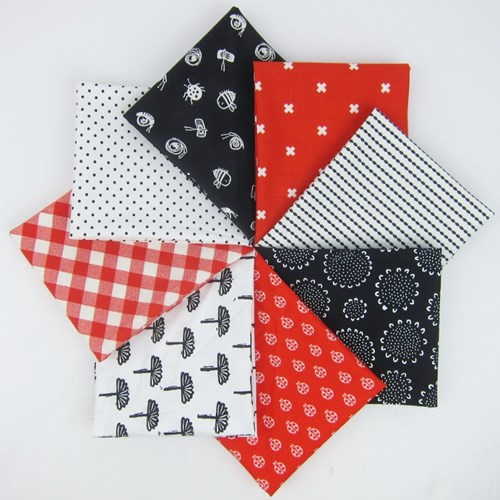 Ladybug Picnic Fat Quarter Bundle