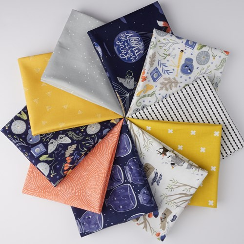 Love You To The Moon Fat Quarter Bundle