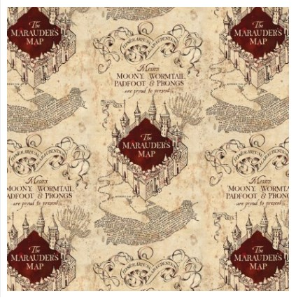 Marauder's Map in Light