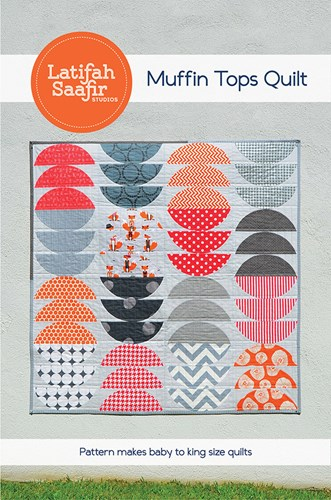 Muffin Tops Quilt Pattern by Latifah Saafir Studios