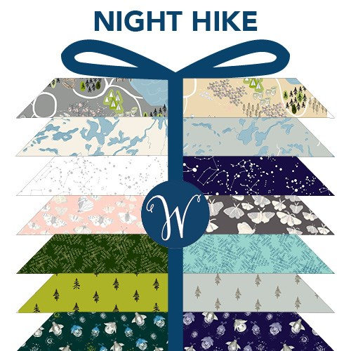 PREORDER - Night Hike Fat Quarter Bundle by Heather Givans