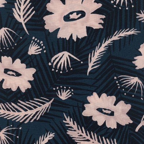Palm Springs Bouquet in Blue RAYON
