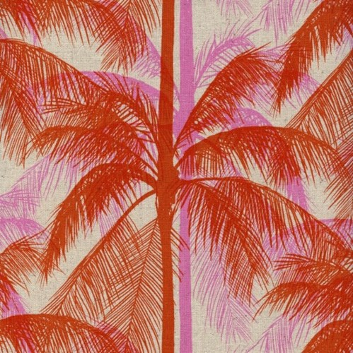 Palms in Pink CANVAS