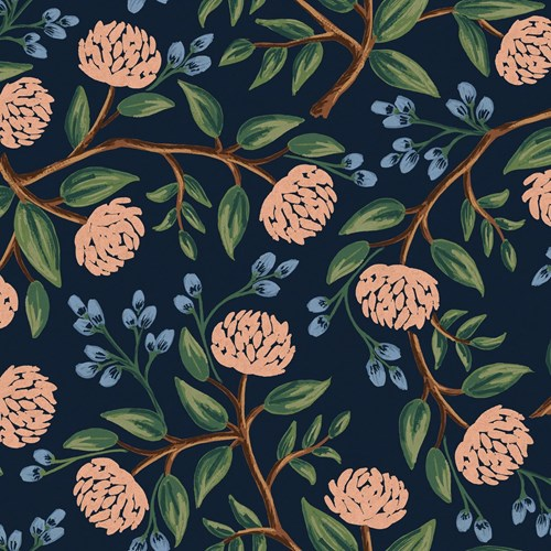 Peonies in Blue CANVAS