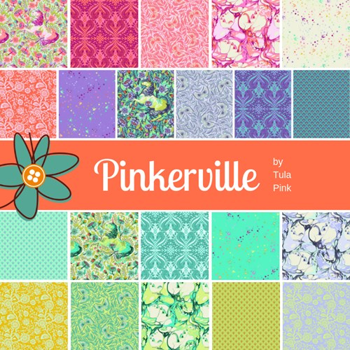 PREORDER - Pinkerville Fat Quarter Bundle by Tula Pink