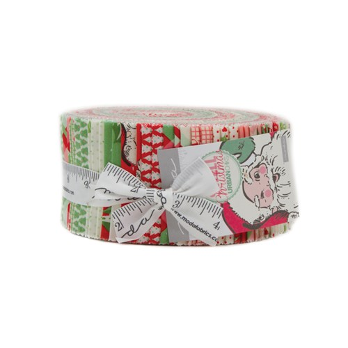 Swell Christmas Jelly Roll by Urban Chiks