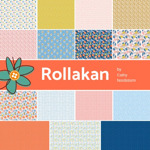 Rollakan Fat Quarter Bundle by Cathy Nordstrom