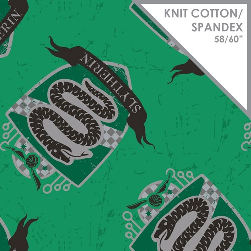 Slytherin Spandex Knit